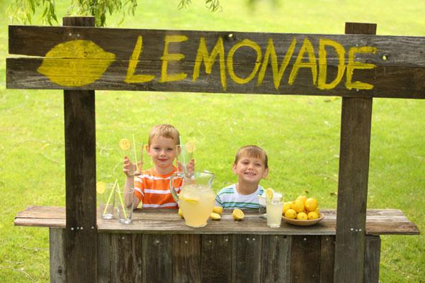 Cool lemonade anyone?